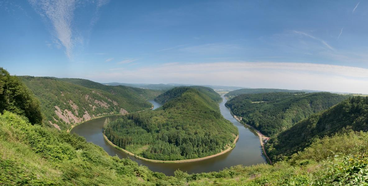 Saar-Hunsrück-Steig - der West-Ost-Abschnitt von Perl nach Idar-Oberstein