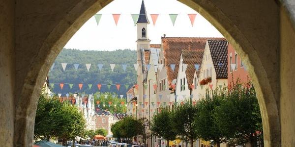 Altstadt von Kelheim im Altmühtal