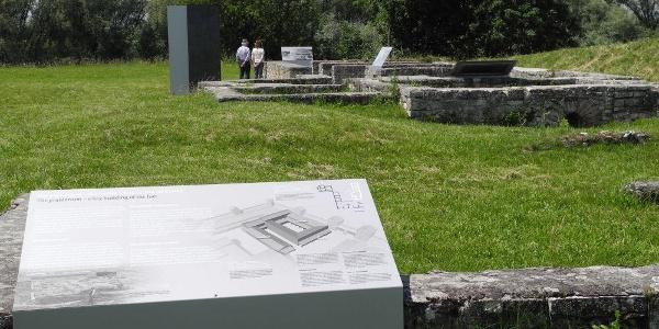 Römerkastell Abusina in Eining im Hopfenland Hallertau