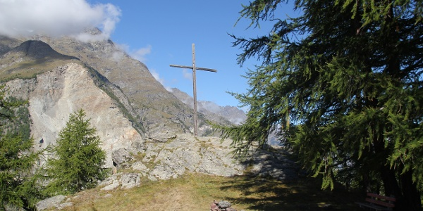Beautiful vue on the Mattertal valley and perfectly suitable for a rest and for enjoying