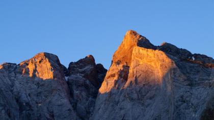 Sonnenaufgang am Grand Vignemale 3298m von Norden gesehen