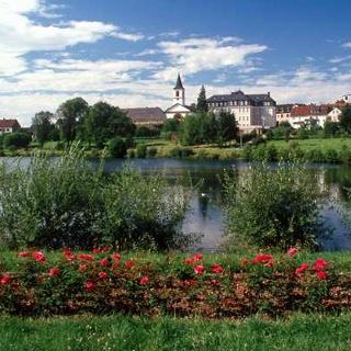 Kurparkweiher in Weiskirchen