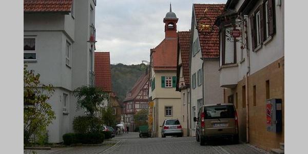 Gasse in Hessigheim