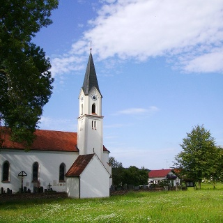 Kirche in Obergrafendorf.
