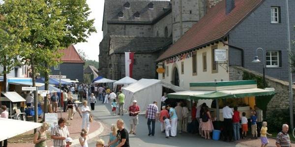 Stiftsmarkt in Neuenheerse, Bad Driburg