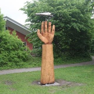 Berglern: Titel: Warnende Hand
