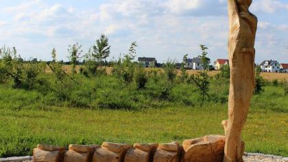 Wartenberg: Titel Die Radfahrerin macht Halt