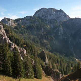 Hoher Straußberg - auf dem Weg zum Tegelberg