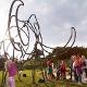Mammut aus Stahl - C. Bleier für Archäopark Vogelherd.