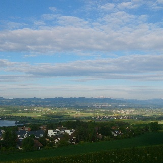 Nice view over the Greifensee.
