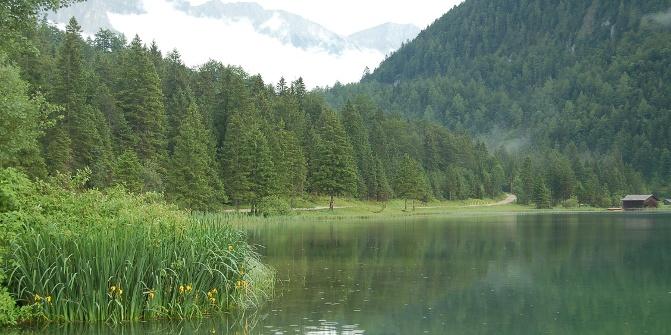 Der Ferchensee.
