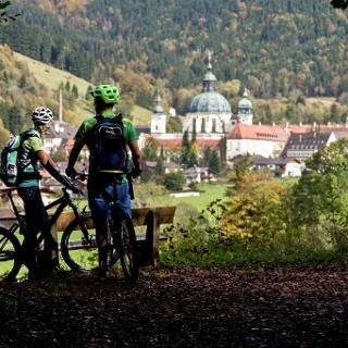 Mountainbiketour - Ettaler Manndl - Drei Marken Runde