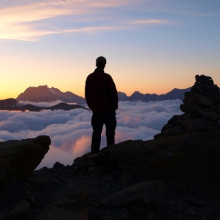 Grand Vignemaleblick vom Col des Sarrardets 2595m