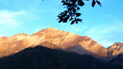 Pico de Posets in der Abendsonne