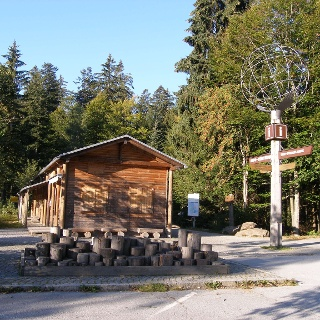 Nationalpark-Kiosk.
