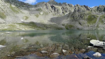Die Seespitze, im Vordergrund der Oberseitsee
