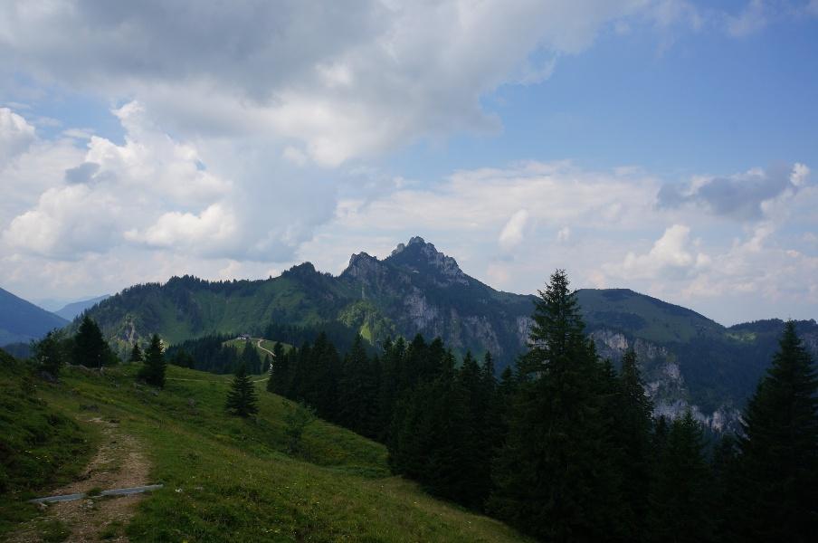 Berglauf zur Kampenwand - genial vital Tour 8