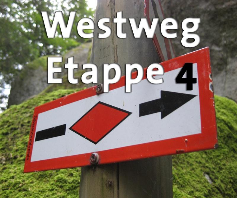 Westweg-Etappe 04: Unterstmatt - Alexanderschanze