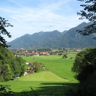 Ausblick auf Grassau