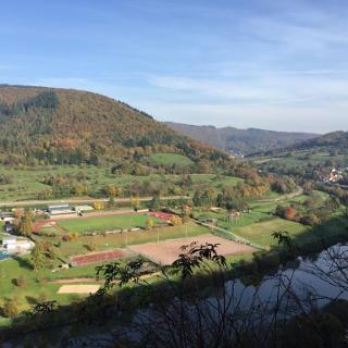 Blick auf Dielsberg