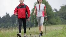 Nordic Walking auf dem Gesundheits- und Fitness-Parcours Bad Driburg, Tour 1