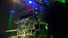 Lichtinstallation von Jonathan Park.