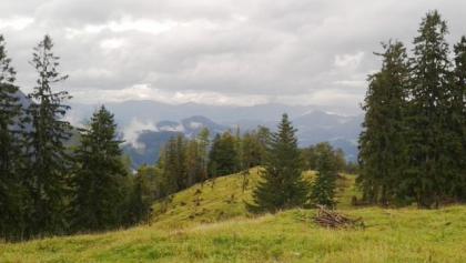 Aussicht auf die Umgebung von Bischofswiesen