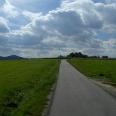 Eine Straße fast bis in den Himmel.