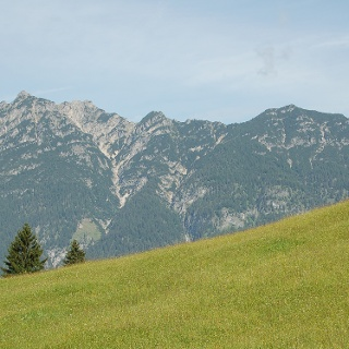 Blick von der Kochelberg-Alm.
