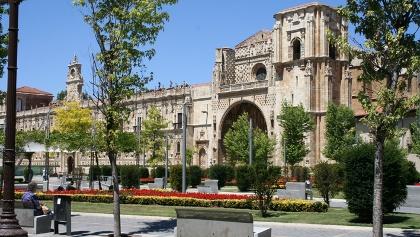 Das ehemalige Ordenshaus der Santiagoritter: das Kloster San Marcos.