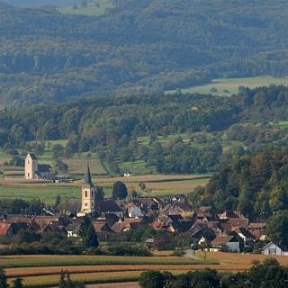 Oltingue et l'église St-Martin des Champs