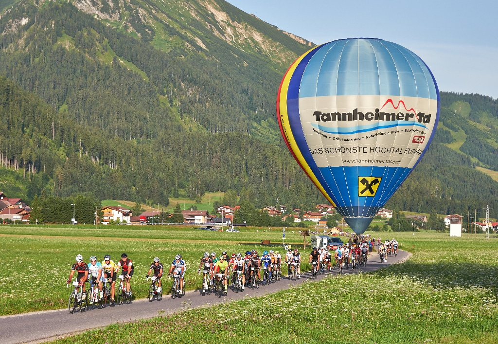 Rad-Marathon Tannheimer Tal_85 km  - @ Autor: Michael Keller  - © Quelle: Tourismusverband Tannheimer Tal