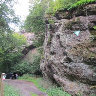 In der Felsenschlucht