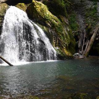 Evantai Waterfall