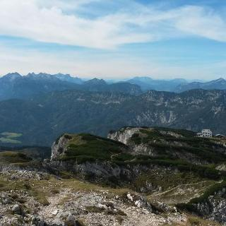 Blick vom Berchtesgadener Hochthron