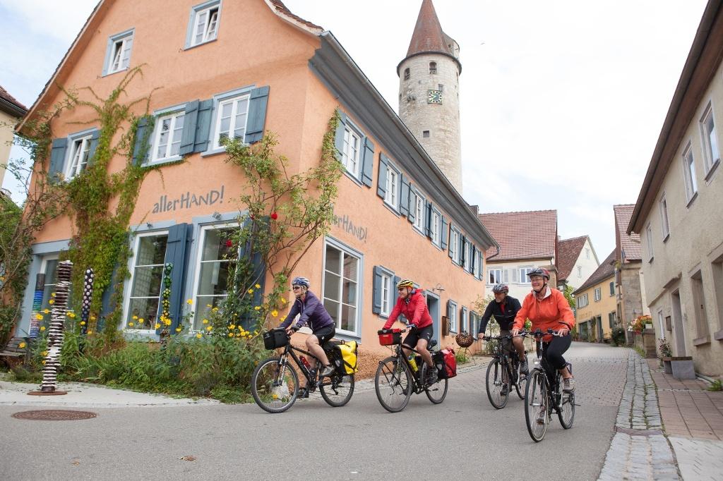 Radler in Kirchberg/Jagst   - © Quelle: Michael Schultz