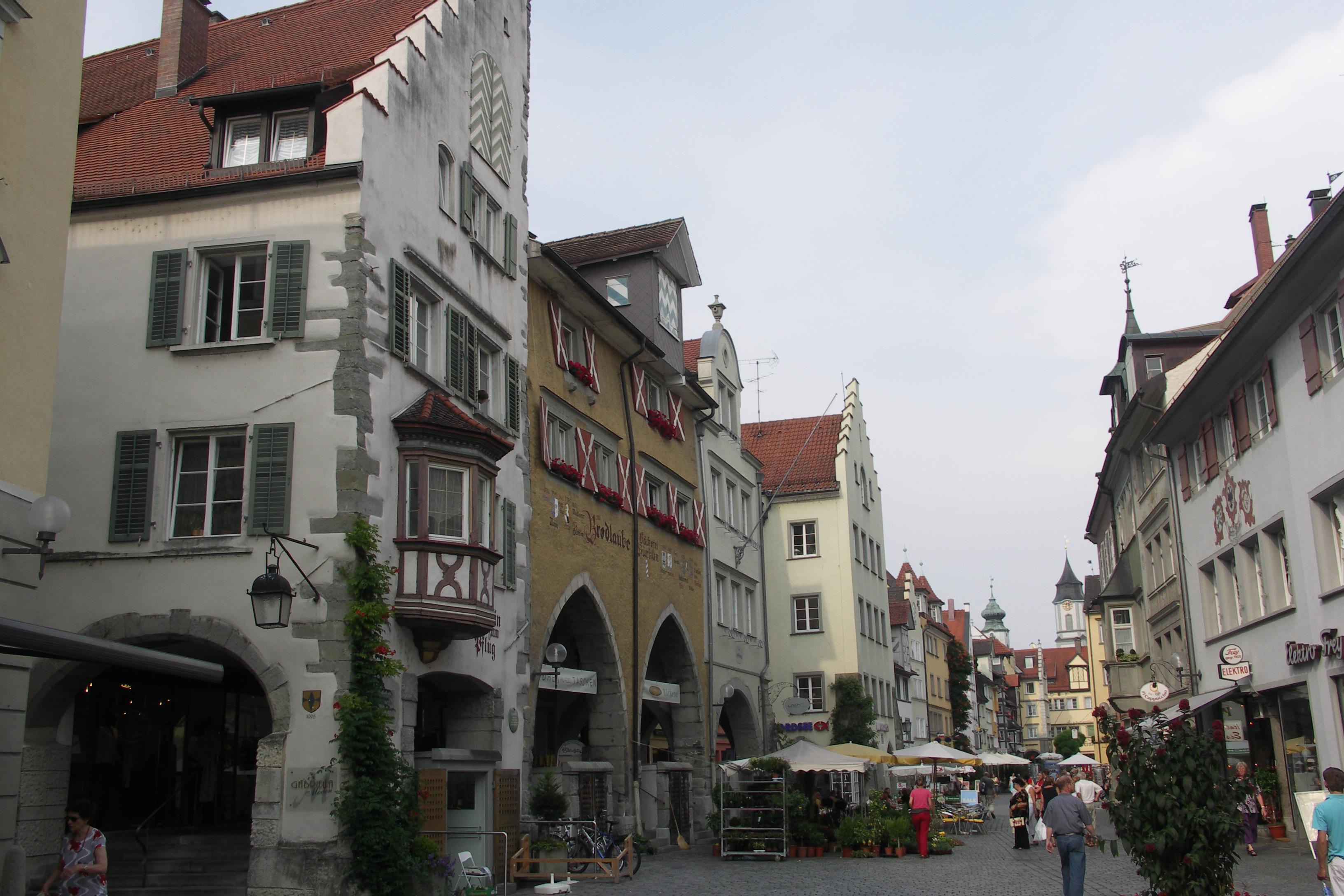 Gässchen in Lindau