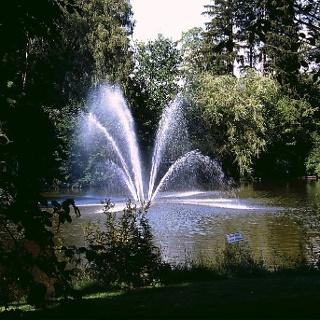 Im Kurpark von Bad Wörishofen.