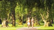 Nordic Walking auf dem Gesundheits- und Fitness-Parcours Bad Driburg, Tour 5