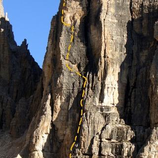 Routenverlauf Dorigatti-Führe
