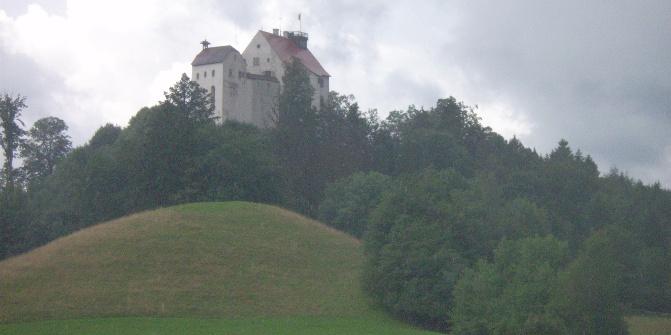 Blick auf die Waldburg.