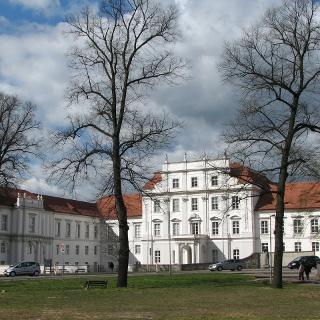 Das Schloss Oranienburg.