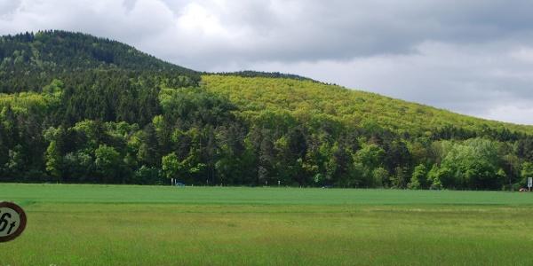 Blick auf die nächsten Harzberge