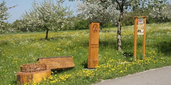 Der Stationenweg bei Altsteußlingen