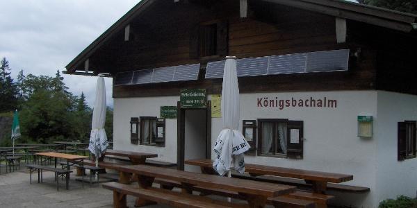 Einkehrmöglichkeit auf der Königsbachalm