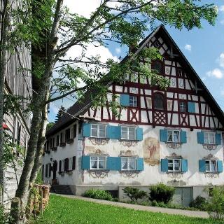 Ein Beispiel für die einheimische Architektur.