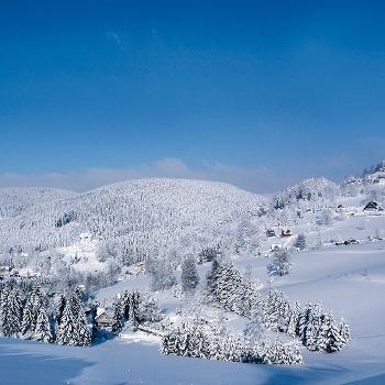 Vogtland Winterlandschaft