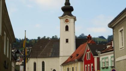 Spätgotische Pfarrkirche Ybbsitz