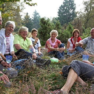 Picknick am Wegesrand