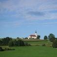 Die Wallfahrtskapelle Weißenregen ist ein beliebtes Ausflugsziel bei Bad Kötzting.